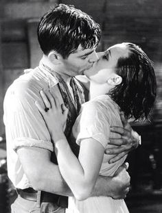 Clark Gable and Mary Astor - Red Dust