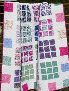 Apartment Nine Quilt Pattern LLD-001 (confident beginner, crib, baby, throw, twin, queen, king)