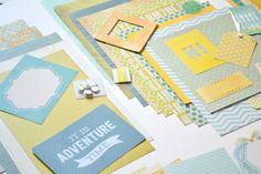 Junk Journal Journal Kit Journaling Kit by ArtistsCornerShop