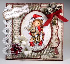 Cathy's Creative Place: Midweek Magnolias - Christmas is Coming