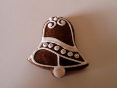 Gingerbread Decorations, Royal Icing Decorations, Christmas Gingerbread, Gingerbread Cookies, Christmas Dishes, Christmas Cooking, Christmas Goodies, Bee Cakes, Candy House