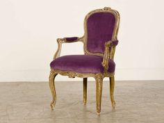 Louis XV Style Child's Fauteuil (Armchair), France c.1865, Original Paint image 2