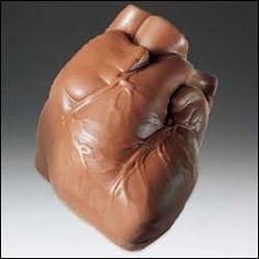 Anatomical Chocolate Heart