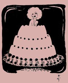 La Cuisine Cousu-Main (1972) Christian Dior's personal cookbook with illustrations by René Gruau