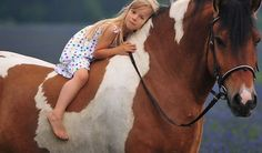 I loved my horse, just like this little gal.
