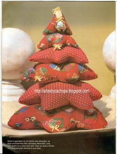 Gata Bacana Moldes: Molde Arvore de Natal