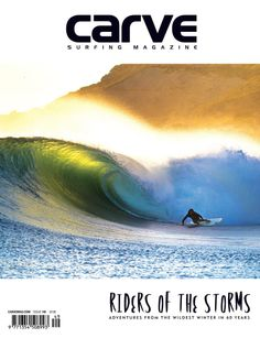 CARVE Surfing Magazine with Yassine Ouhilal Photography  -   The new Carve is out this weekend! Here's our cover. You like? (It's Mr Hynd surfing a finless board. Imagine doing bottom turn like that finless?) Not in the UK? Download the digital version now at CARVE Surfing Magazine online.