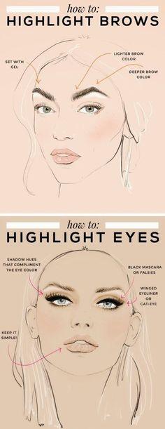 Tendance Maquillage Yeux 2017 / 2018   Teenage Fashion Blog: Prom Makeup Tips pour mettre en évidence vos fonctionnalités faciales