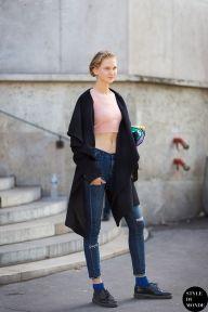 STYLE DU MONDE / Haute Couture Fall 2014 Street Style: Anna Martynova  // #Fashion, #FashionBlog, #FashionBlogger, #Ootd, #OutfitOfTheDay, #StreetStyle, #Style