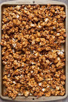 vanilla honey salted caramel popcorn