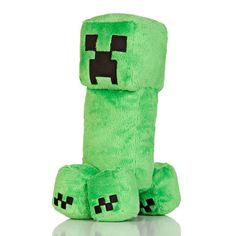 """J!NX : Minecraft 10.5"""" Creeper Plush"""