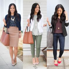 34 Inspiring Business Casual Outfit Ideas for Women To Copy Now An over-the-top outfit isn't acceptable at work. Earlier, casual outfits were intended to be worn just on weekends. Casual Work Outfits in Simple Style There are a lot of… Continue Reading → What Is Business Casual, Trajes Business Casual, Business Casual Outfits For Women, Dressy Casual Outfits, Business Casual Attire, Business Outfits, Office Outfits, Business Professional, Office Attire