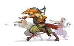 Redwall Races - Shrew by chichapie on DeviantArt