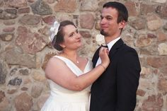 Our late summer wedding - us:)