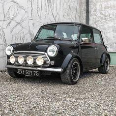 The Classic Mini Has Been Remastered With New Engines And Tech - Mini Owners Club Classic Mini, Classic Cars, Black Mini Cooper, Austin Mini, Mini Car, Mini Coopers, New Engine, Metal Art, Jaguar