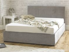 Stirling Fabric Ottoman Natural Stone Super King Size Bed                                                                                                                                                                                 More