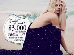Win the Wildfox Treasure Chest! $3,000 Worth of the new Ready to Wear Collection! ends 5/31/16