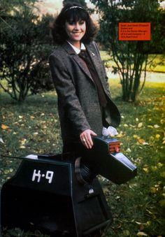 Elisabeth Sladen & K9 <3