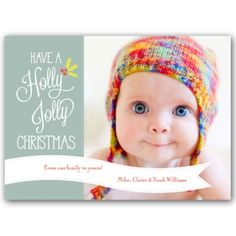 Holly Jolly Christmas Photo Cards from PaperStyle