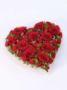 Send your thoughts and condolences with funeral flowers. We have wide range of funeral flowers as well as large standing funeral sprays and casket sprays. Red Flower Bouquet, Red Flowers, Red Roses, Romantic Flowers, Funeral Flower Arrangements, Funeral Flowers, Funeral Sprays, Funeral Tributes, Order Flowers Online