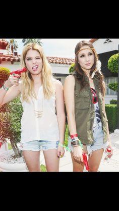 Ashley & Troian...