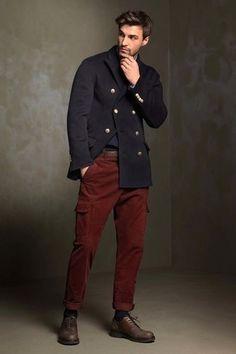 Image result for burgundy pants outfit men