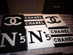 #DIY Chanel room decor