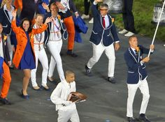Team Netherlands, London Olympic Opening Ceremony