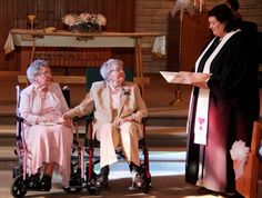 Congrats ladies! http://www.pinknews.co.uk/2014/09/08/us-lesbian-couple-marry-after-72-years-together/