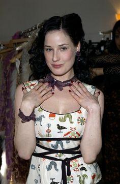 Dita von Teese without her makeup