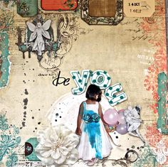 Anupama's Layout for May Challenge - Scrap Around the World