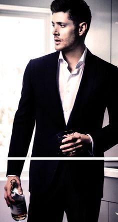 Harper's Bazaar China photo shoot April 2014 #JensenAckles