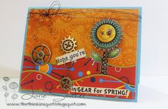 Playing with the February Release from Peachy Keen Stamps.