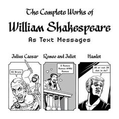 Shakespeare in text messages