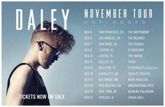 Daley November Tour Dates