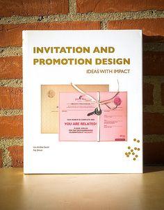 Invitation And Promotion Design. Ideas With Impact - Lou Andrea Savoir & Paz Diman Book Design, Web Design, Design Ideas, Promotional Design, Invitations, Reading, Books, Design Web, Libros