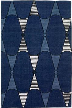 Madeline Weinrib - Cotton - Carpets / Textil http://pinterest.com/decdesignecasa/