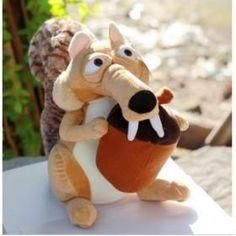 Wholesale - Animal Plush Toys Cartoon the ice age squirrel plush toy doll