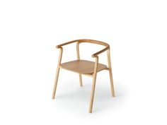Chair [SPLINTER DINING Arm Chair (wood seat)] | Complete list of the winners | Good Design Award
