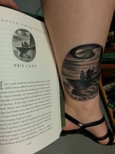 HP chapter art. I've considered getting one as a #tattoo for a while. This one turned out great! http://www.reddit.com/r/harrypotter/comments/1ijm4d/new_tattoo_that_i_got_right_after_leakycon/