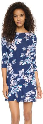 Yumi Kim T Shirt Dress - Shop for women's Shirt - Black Shadow Flower Shirt