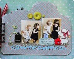 Obrusik Polaroid Film, Scrapbooking, Frame, Decor, Picture Frame, Decoration, Scrapbooks, Decorating, Frames