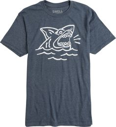 SWELL SHARK ATTACK SS TEE