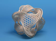 Borromean honeycomb moebius by MindEversion