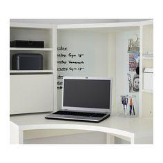 MICKE Corner workstation - white - IKEA