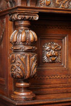 Elizabethan Oak and Inlaid Court Cupboard   From a unique collection of antique and modern cupboards at https://www.1stdibs.com/furniture/storage-case-pieces/cupboards/
