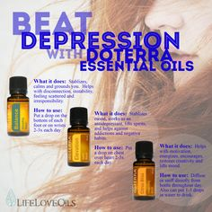 Beat depression with Doterra essential oils!  Antidepressants can just make the problem worse eo's help you over come depression and encourage healing and healthy coping techniques.