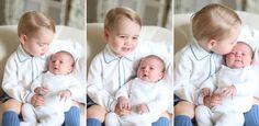 Charlotte insieme al fratellino George! Dolcissimi <3   #RoyalBaby  #PrinceGeorge #PrincessCharlotte