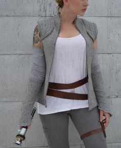 Star Wars : la Force réveille Rey résistance gilet avec bras