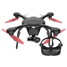 Drone 2.0 GHOSTDRONE con gafas VR negro (iOS de Apple) - http://www.midronepro.com/producto/drone-2-0-ghostdrone-con-gafas-vr-negro-ios-de-apple/